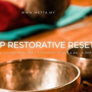 Deep Restorative Reset Full Moon Sound Healing
