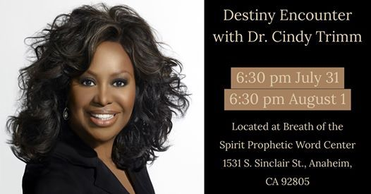 Highest Destiny Encounter with Dr  Cindy Trimm at Breath of