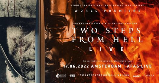 Two Steps From Hell Live at AFAS Live II - Online, 17 June   Online Event   AllEvents.in