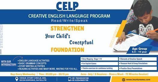 Creative English Language Program for 6.5 Yrs to 10 Yrs Kids