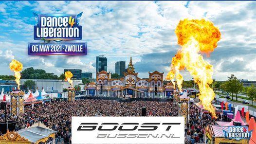 boostbussen.nl naar Dance 4 Liberation 2021, 5 May | Event in Zwolle | AllEvents.in