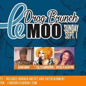 Drag Brunch at Le Moo 9.1.19