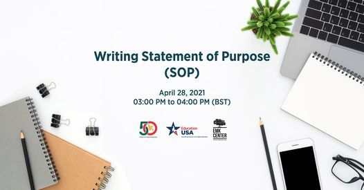 Writing Statement of Purpose (SOP), 28 April | Event in Dhaka | AllEvents.in