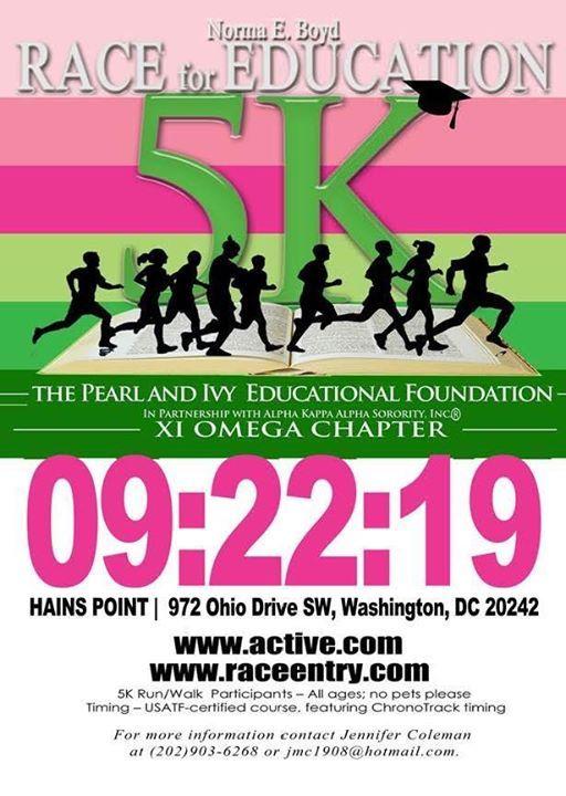 Norma E. Boyd 5K Race for Education