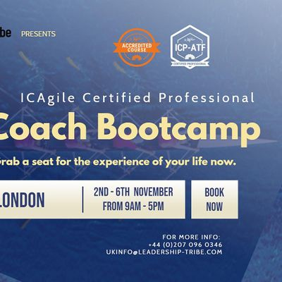 Agile Coach Bootcamp (ICP-ATF & ICP-ACC)  London - November 2020