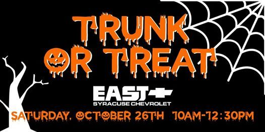 Trunk or Treat at East Syracuse Chevy