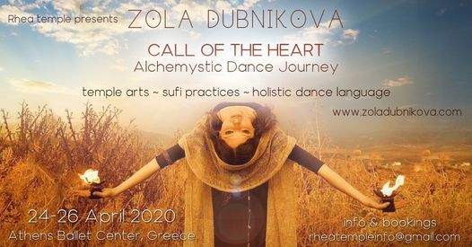 Zola Dubnikova  Call of the Heart  in Athens