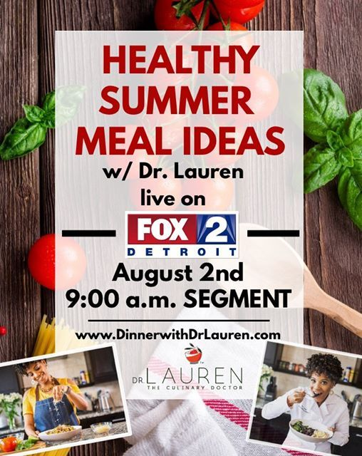 Cooking Demo on Fox 2 News Detroit at Detroit, Michigan, Detroit