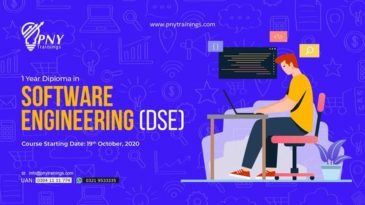 1 year Diploma in Software Engineering (DSE) - Arfa Tower