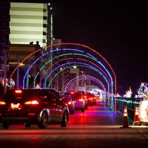 BayPort Credit Union Holiday Lights at the Beach