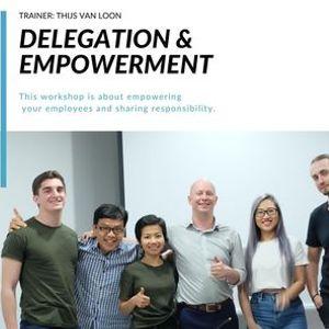 Leadership Program Delegation & Empowerment