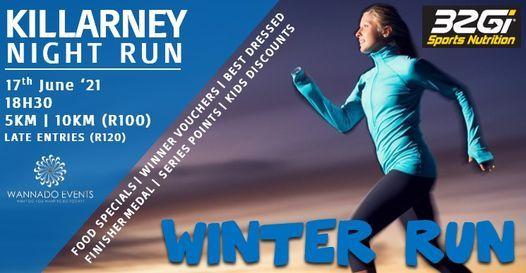 Killarney Night Run - Winter 17th June | Event in Johannesburg | AllEvents.in