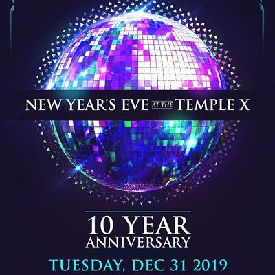 NYE 2021 at The Temple XI – Kansas City New Years Eve 2020-2021, Thu Dec 31 2020 at 08:00 pm