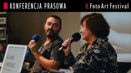 Konferencja prasowa FotoArtFestivalu