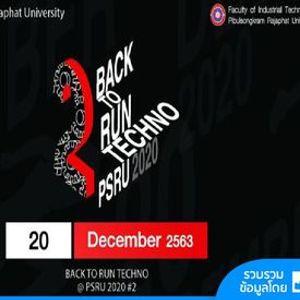 Back to Run Techno 2020 2
