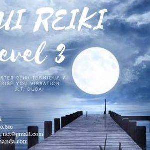 USUI REIKI LEVEL 3 Evening Certified Training Course Dubai