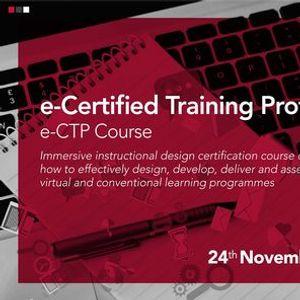 e-Certified Training Professional (e-CTP)