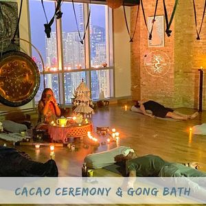 Sacred Cacao and Gong Ceremony