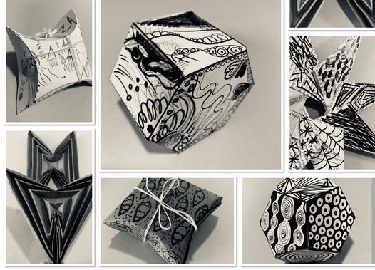 Dimensional Doodling with Sarah Hanson | Online Event | AllEvents.in