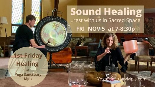 Sound Healing - Quartz Bowls and Gong Bath, 5 November | Event in Minneapolis | AllEvents.in