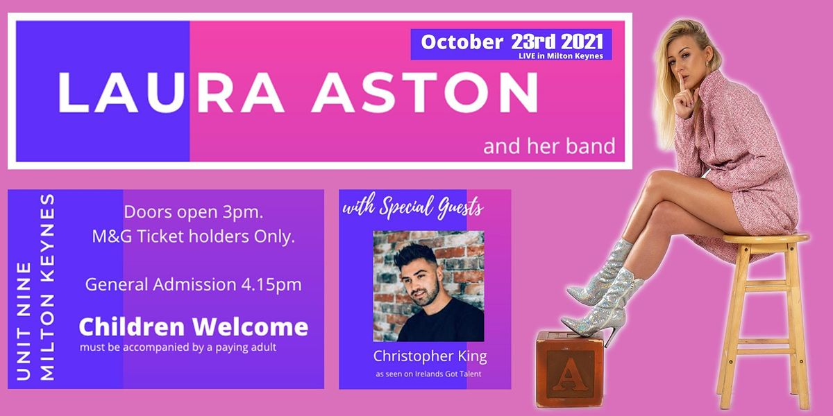 Laura Aston LIVE in Milton Keynes with Special Guests
