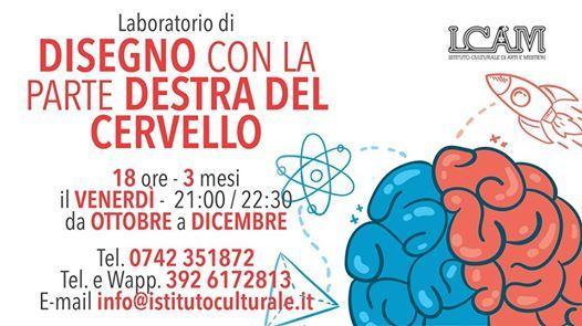competitive price 57b14 3e555 Laboratorio di Disegno con la Parte Destra del Cervello at ...
