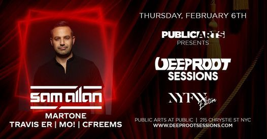 Deep Root Sessions w/ Sam Allan | NYFW After Party, 6 February | Event in York | AllEvents.in