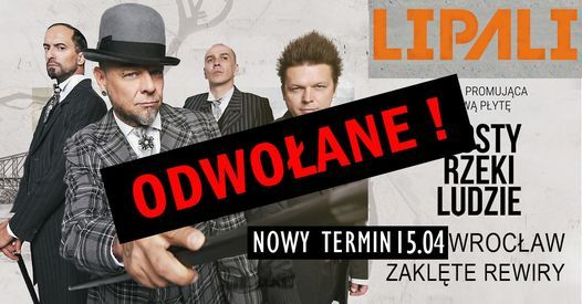 Lipali Promocja Nowego Albumu  14.03  Zaklte Rewiry