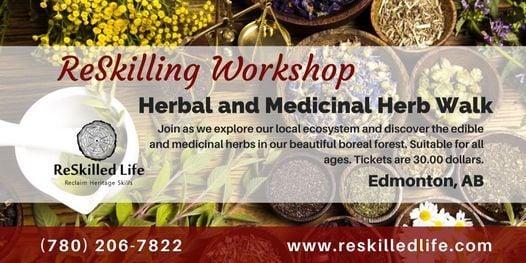 Edible and Medicinal Herb Walk Edmonton, 26 May | Event in Edmonton | AllEvents.in