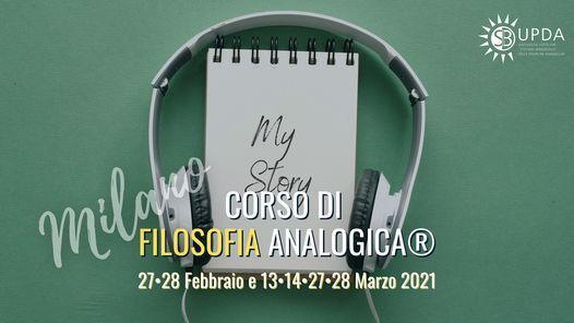 Corso di Filosofia Analogica®, 27 February   Event in Milano   AllEvents.in