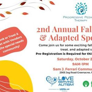 2nd Annual Fall Festival & Adapted Sports Day
