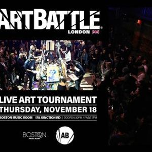 Art Battle London - 18 November 2021