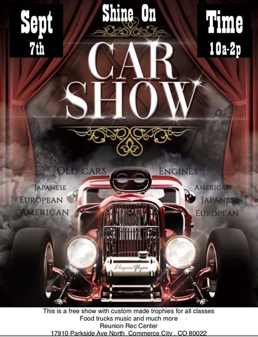 Shine On Car And Bike Show at Reunion Recreation Center