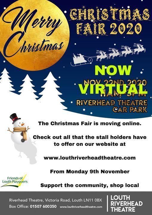 Louth Christmas Market Parking 2020 Outdoor Christmas Fair, Louth Riverhead Theatre, 22 November