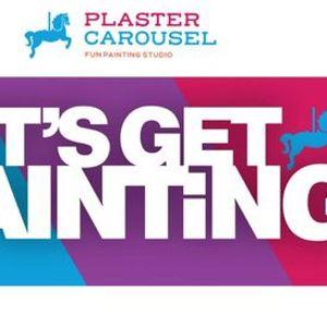 Teen & Adult Paint Night at Plaster Carousel