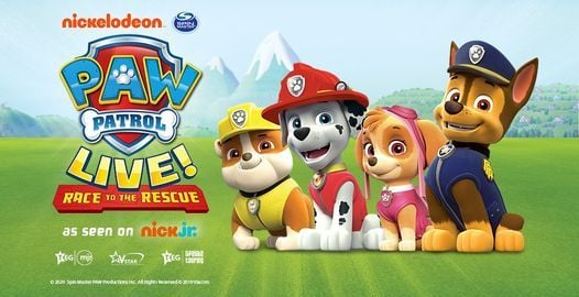 """PAW Patrol Live! """"Race to the Rescue""""   Birmingham, 7 August   Event in Birmingham   AllEvents.in"""
