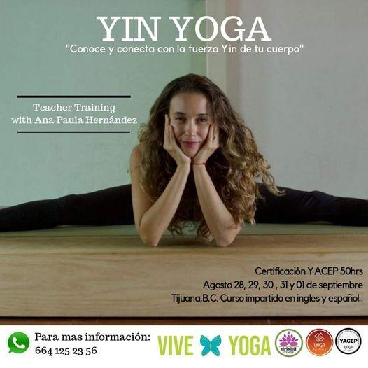 Formación YIN YOGA, 23 October | Event in Tijuana | AllEvents.in