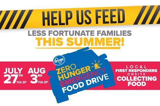 Kroger Zero Hunger Event With Stephen Clark! at Kroger, Union Lake