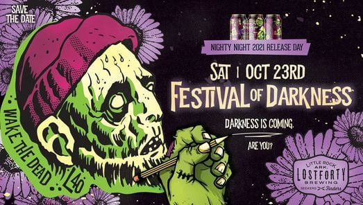 Festival of Darkness: Nighty Night 2021 Release Party, 23 October | Event in Little Rock | AllEvents.in
