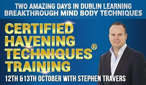 Stephen Travers  Advanced Hypnotherapy Dublin & Havening Techniques