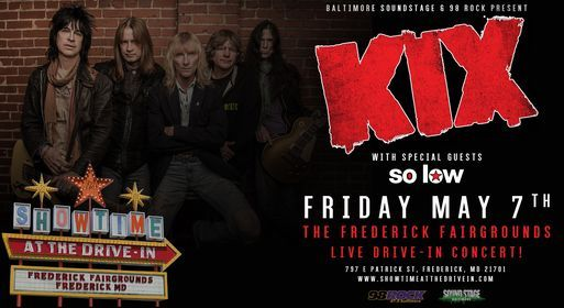KIX at The Frederick Fairgrounds Friday May 7th, 7 May | Event in Frederick | AllEvents.in
