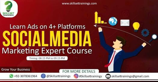 Become Certified Social Media Marketing Expert | Event in Lahore | AllEvents.in