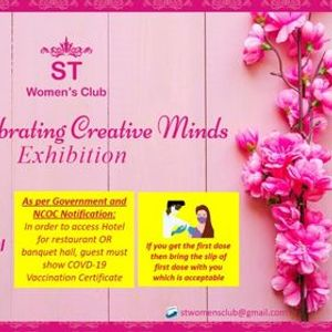 12th ST Celebrating Creative Minds Exhibition