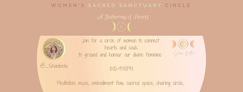 Full Moon Women's Circle- A Gathering of Hearts | Online Event | AllEvents.in