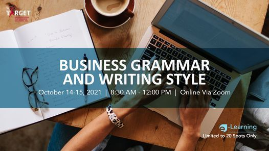 Business Grammar & Writing Style | Event in Kabankalan | AllEvents.in
