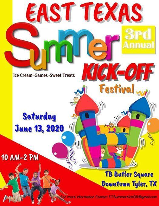 East Texas Summer Kick-Off Festival 2020