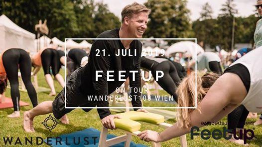 FeetUp on Tour mit Wanderlust 108 in Wien