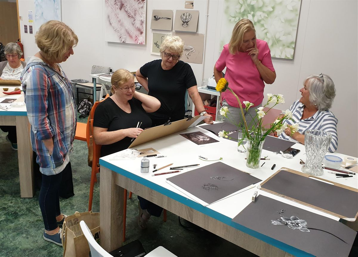 Learn To Draw And Paint In Bolton Beginners Art Classes At