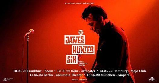 The James Hunter Six – Hamburg, Mojo Club, 14 May | Event in Hamburg | AllEvents.in