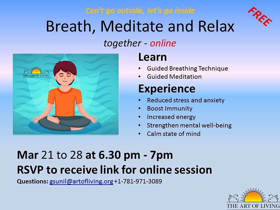 Breath Meditate and Relax